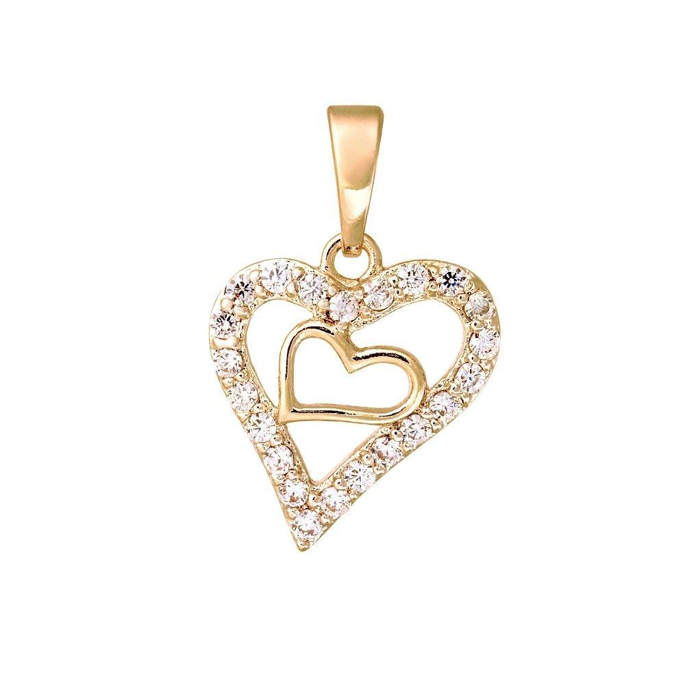 Bristoff: Кулон Golden Hearts pe26342661 - фото 1