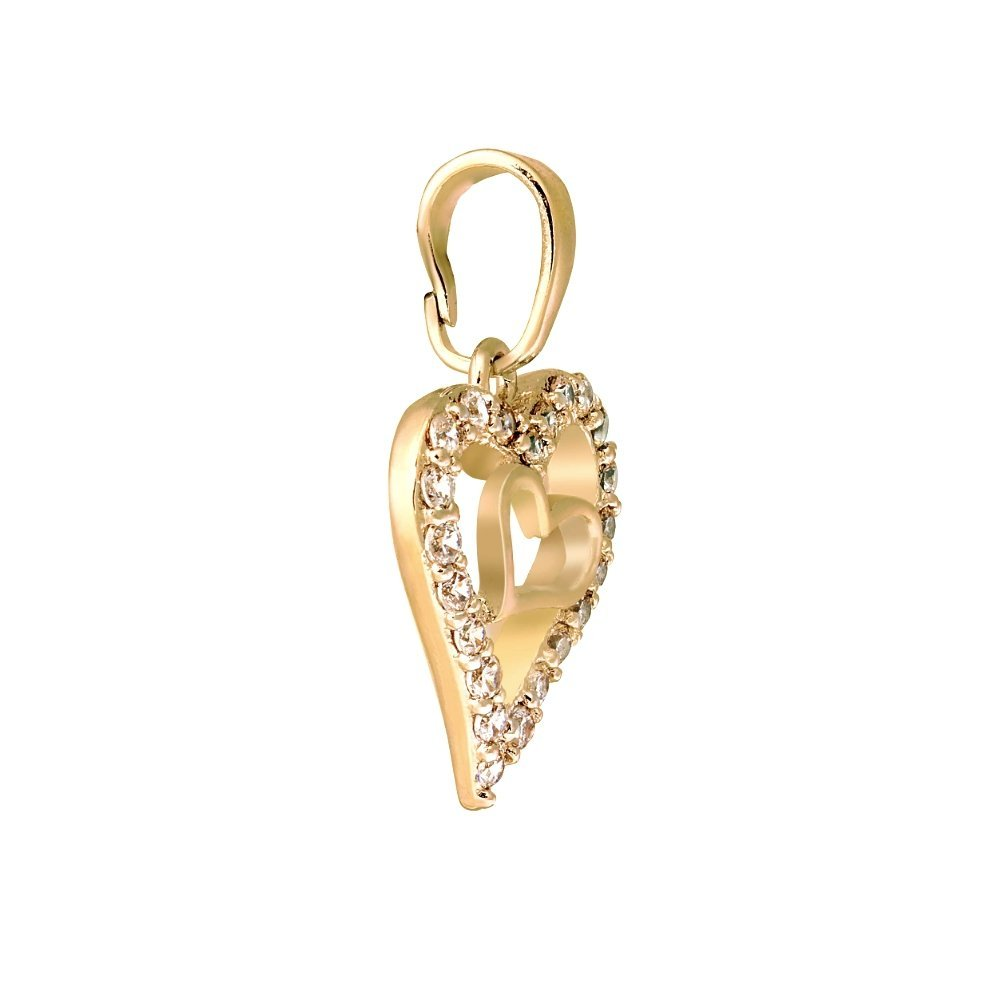 Bristoff: Кулон Golden Hearts pe26342661 - фото 2