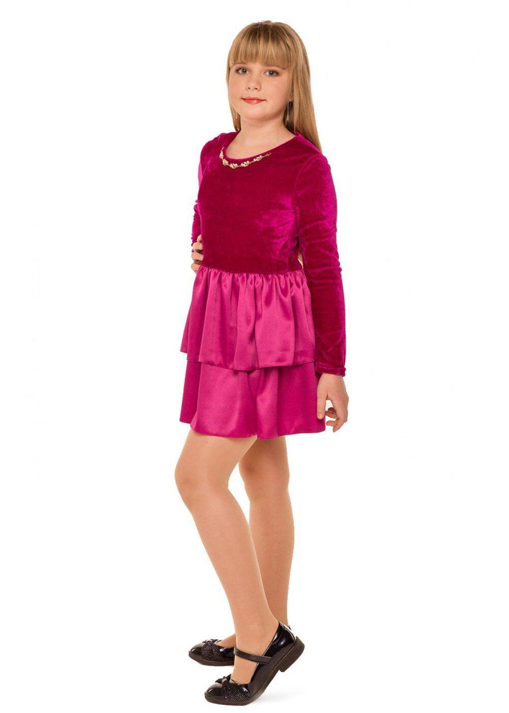 Tashkan: Платье Малинка, малиновый 1730000001 - фото 1