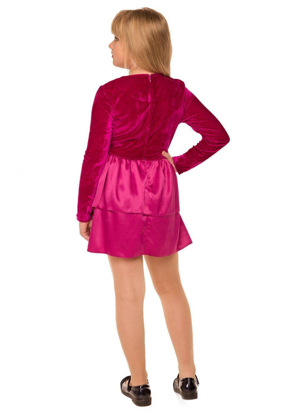 Tashkan: Платье Малинка, малиновый 1730000001 - фото 3