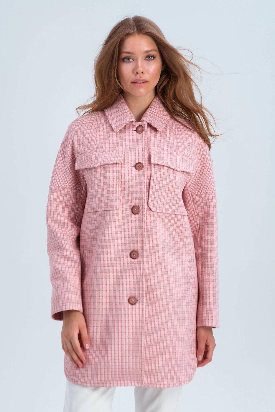Emass: Пальто Майли розовый 300-69-1 - фото 1