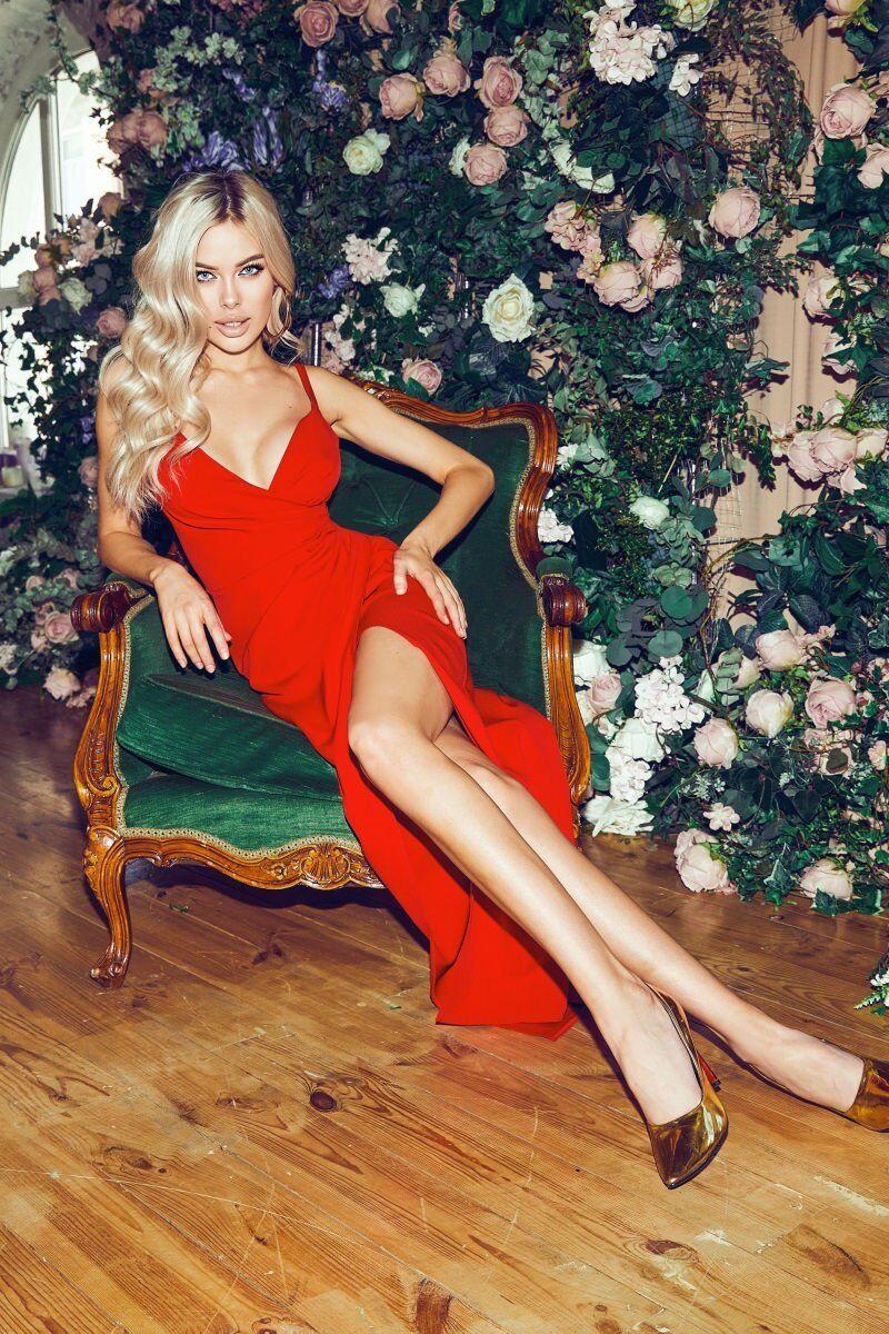 Tivardo: Красное вечернее платье 7387-05 - фото 1