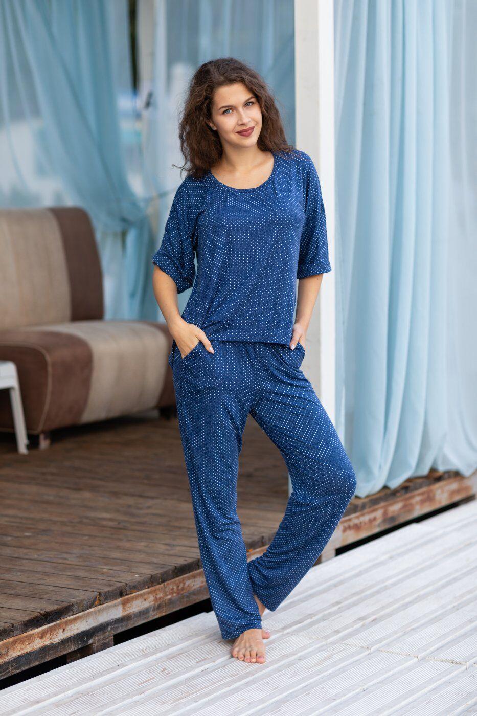 Catrina: Пижама (футболка, брюки) 2101 - фото 1