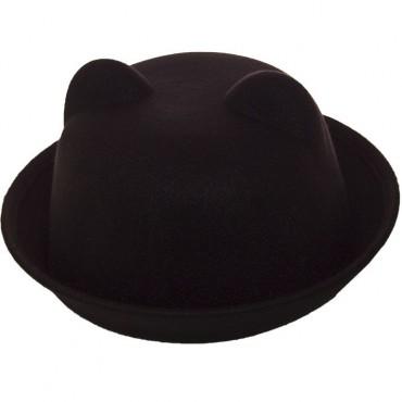 Cherya Group: Шляпа фетровая F16001 чёрный - фото 1
