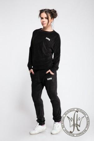 Modna Anka: Спортивный костюм Love Black 211382 - фото 1