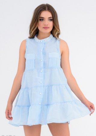 ISSA PLUS: Платья 5474_голубой - фото 1