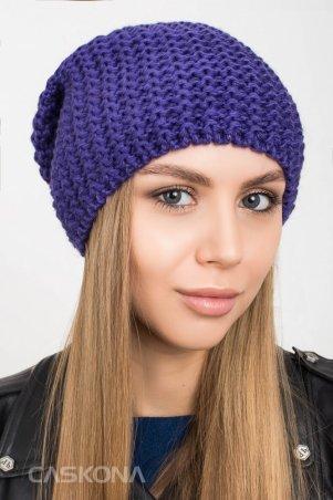 Caskona: AGATA ШАПКА фиолетовый CS 110436 - фото 1
