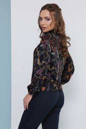 MarSe: Блуза 1824 темно-синий - фото 2