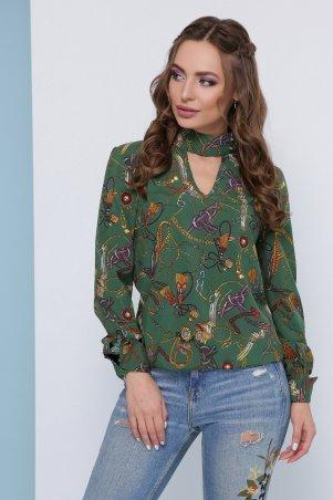 MarSe: Блуза 1824 зеленый - фото 1