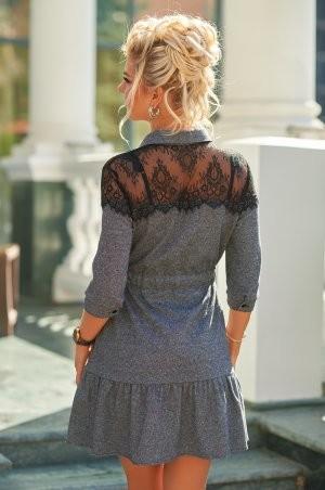 Bisou: Твидовое платье с кружевом 7847  - фото 5