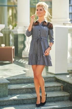 Bisou: Твидовое платье с кружевом 7847  - фото 2