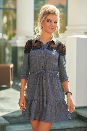 Bisou: Твидовое платье с кружевом 7847  - фото 4