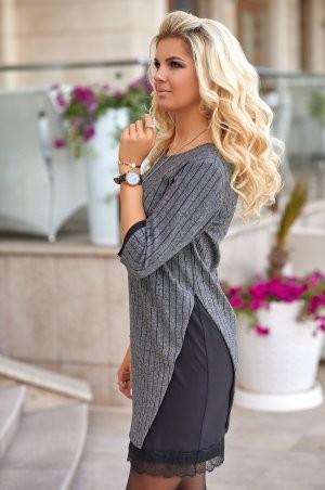 Bisou: Трикотажное теплое платье 7853 - фото 2