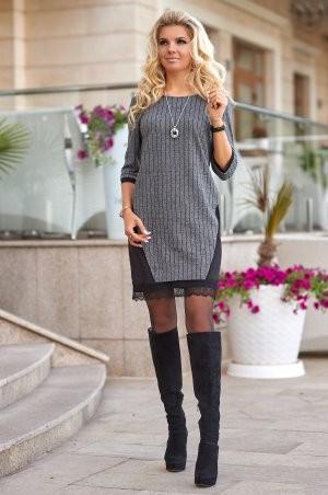 Bisou: Трикотажное теплое платье 7853 - фото 3