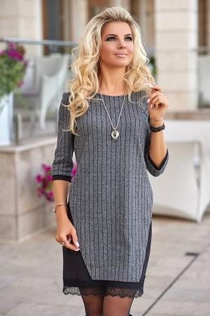 Bisou: Трикотажное теплое платье 7853 - фото 1