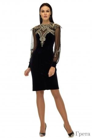 Angel PROVOCATION: Платье ГРЕТА  черный - фото 1