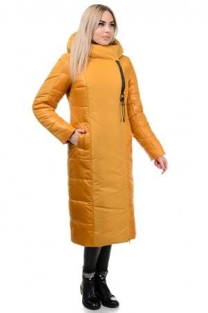 A.G.: Пальто «Сара» 276 горчица - фото 2