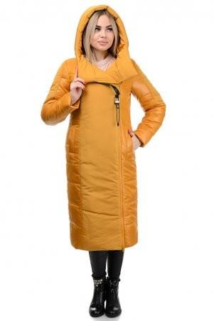 A.G.: Пальто «Сара» 276 горчица - фото 3