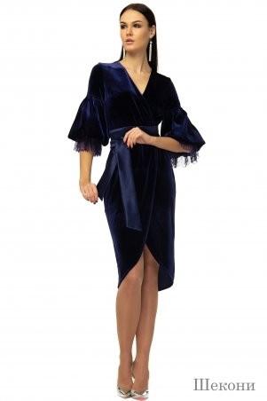 Angel PROVOCATION: Платье Шекони синее - фото 1