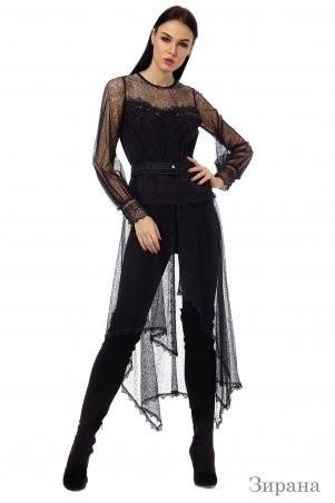 Angel PROVOCATION: Комплект (рубашка+лосины) ЗАРИНА черный - фото 1