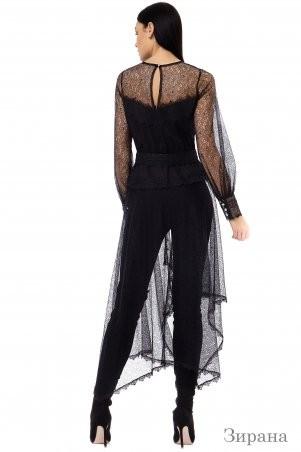 Angel PROVOCATION: Комплект (рубашка+лосины) ЗАРИНА черный - фото 2