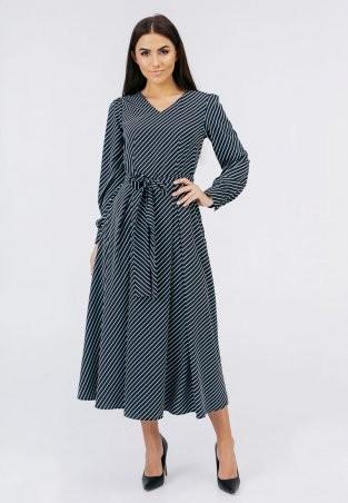 Bessa: Приталенное платье миди длины 1955 - фото 1