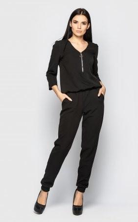 Santali: Повседневный брючный костюм (черный) 4096 - фото 7
