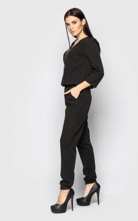 Santali: Повседневный брючный костюм (черный) 4096 - фото 8