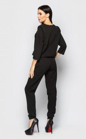 Santali: Повседневный брючный костюм (черный) 4096 - фото 9