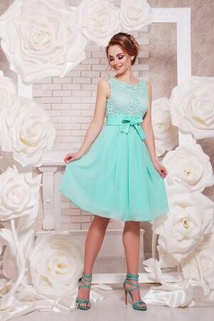 Glem: Платье Настасья б/р мята p34951 - фото 1