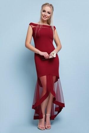 Glem: Платье Ингрид б/р бордо p42168 - фото 1