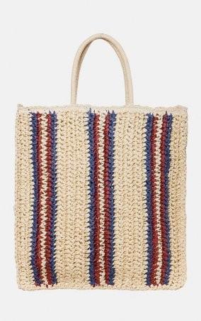 MR520: Плетенная сумка-шопер MR 2222 2371 0220 Wine - фото 1