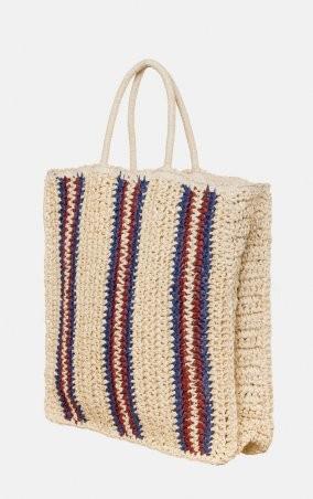 MR520: Плетенная сумка-шопер MR 2222 2371 0220 Wine - фото 3