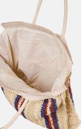 MR520: Плетенная сумка-шопер MR 2222 2371 0220 Wine - фото 4