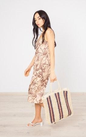 MR520: Плетенная сумка-шопер MR 2222 2371 0220 Wine - фото 6