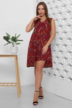 MarSe: Платье 1859 бордовый - фото 1