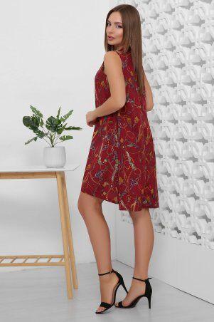 MarSe: Платье 1859 бордовый - фото 2