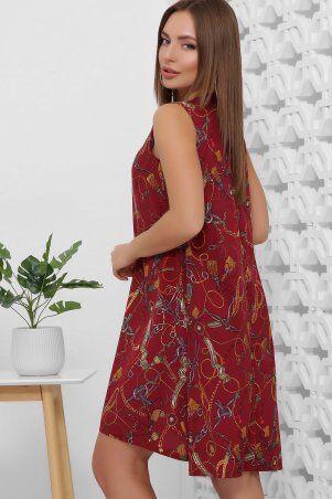 MarSe: Платье 1859 бордовый - фото 4