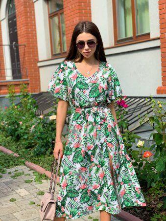 K&ML: Платье летнее средней длины с разрезом 558 - фото 12
