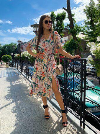 K&ML: Платье летнее средней длины с разрезом 558 - фото 8