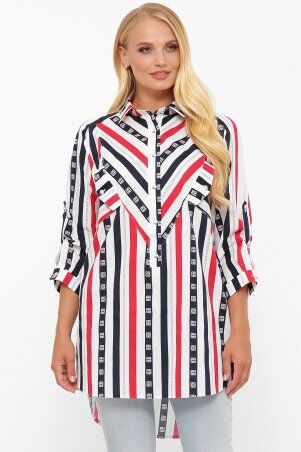 Vlavi: Рубашка Стиль полоса 114615 - фото 1