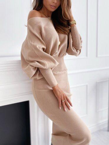 New Style: Платье 1500_беж - фото 1