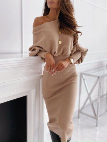 New Style: Платье 1500_беж - фото 2