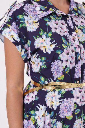Vlavi: Платье Алена Гортензия синее 1143246 - фото 2
