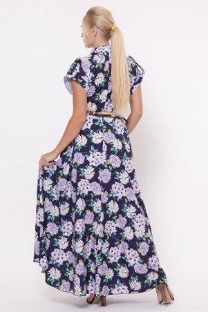 Vlavi: Платье Алена Гортензия синее 1143246 - фото 3