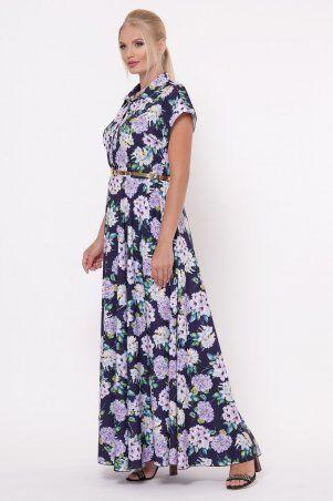 Vlavi: Платье Алена Гортензия синее 1143246 - фото 4