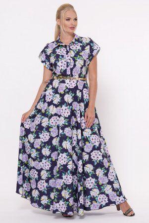 Vlavi: Платье Алена Гортензия синее 1143246 - фото 5