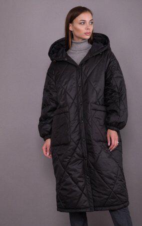 MR520: Стеганное пальто MR 202 2599 0820 Black - фото 1