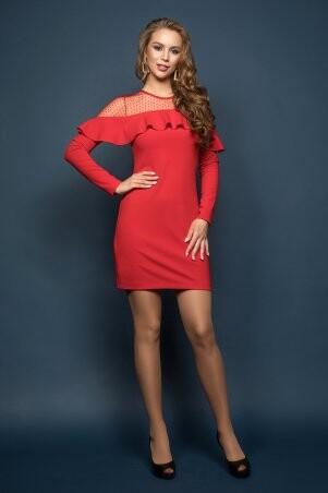 Miledi: Платье Венера красный 04386-10 - фото 2