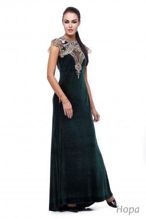 Angel PROVOCATION: Платье Нора изумрудный - фото 1